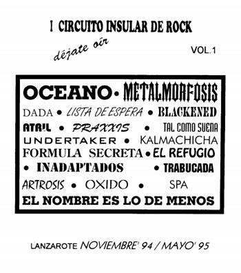 Circuito de Rock Lanzarote 1994-1995