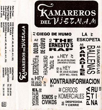 """Kamareros Del Vietnam """"Maqueta 1995"""""""