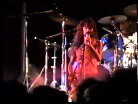 Krayer en directo Lanzarote '90