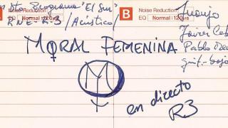 """Moral Femenina """"En Directo En Radio 3"""""""